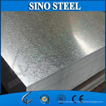Tôle d'acier enduite chaude de zinc de Dx51d Z275 grand pailleté enduit