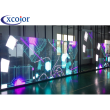 Video Advertising P7.81 Indoor Glass Transparent LED Screen