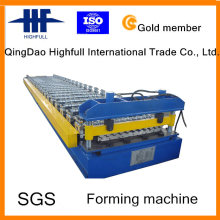 Neue Roofing Sheet Crimping Panel Roll Forming Machine