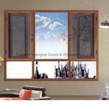 Fenêtre en aluminium / en aluminium de coupure thermique d'écran de mouche (FT-W135)