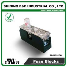 FB-M031PQ Aprovado UL Equal To Bussmann 1 Pole 30A Caixa de fusíveis de cerâmica