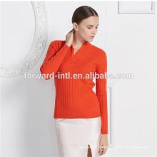 nouveau design femmes / filles pull en laine de cachemire pour l'hiver