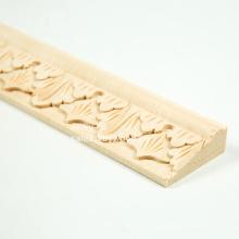 Design d'intérieur bois maison décorative moulure de hêtre moulure design d'intérieur
