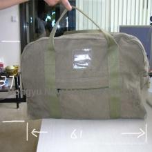 Sac à main militaire à main personnalisé personnalisé en forme de cylindre