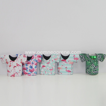 Factory Cheap Price Beautiful T-shirt Neoprene Can Coolers