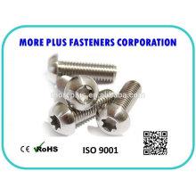 Made in Taiwan Steel Stainless Steel Copper ISO 7380 Hexagon Socket Button Head Cap Screw Button Head Screws