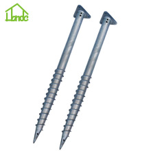 Ground Screw dengan Triange Flange untuk Log Cabin