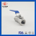 Globe High Quality One piece Female ball valve