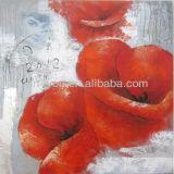 pop flower painting art(24624)