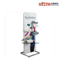 Tienda de accesorios Custom Rolling Wooden Shoes Display Stand