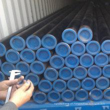 Fornecimento contemporâneo asme b36.10 astm a106 b tubo de aço sem costura