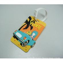 Hot Sell 3D Soft PVC Bag Tag