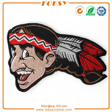 American Indian hand make embroidery patch
