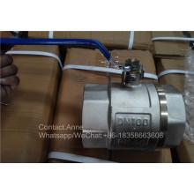 4 '' Válvula de agua de cobre del precio de fábrica (YD-1023)