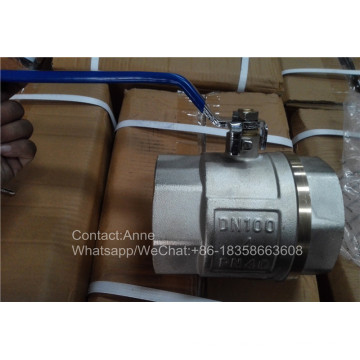 4′′ Factory Price Copper Water Valve (YD-1023)