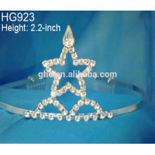 Rhinestone beleza coroa coxa aniversário aniversário da noiva estrelas estrelas coroa