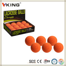 Dia 63mm Red Color Lacrosse Training Balls