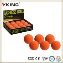 Прямая поставка с завода Оранжевый массаж Йога Лакросс Мячи
