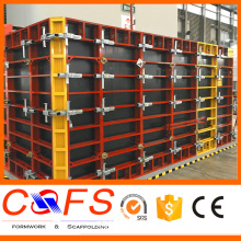 Manufacturer DOMINO aluminum/steel formwork for wall formwork