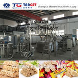 Full-Automatic Oatmeal Chocolate Cereal Energy Bar Forming Machine
