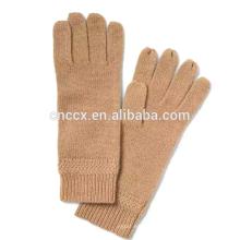 PK17ST031 China Lieferant italienische Kaschmir Handschuhe Chevron-Rib
