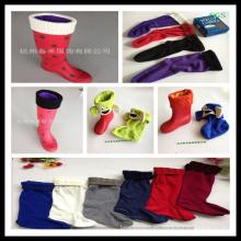 Calcetín del cargador, calentador del cargador, calcetines, calcetín del cargador de lluvia. Calcetín Boot, Boot Liner, Welly Liner