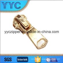 3841 New Design Metal Zipper Slider with Lockable Puller