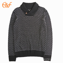Knit Collared Sweater Oem For Men From Turkey