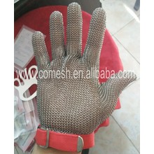 Stainless steel security protective gloves