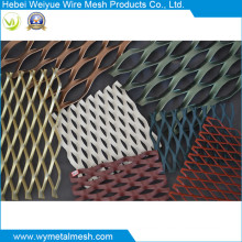 Streckmetallblech mit PVC-Beschichtung