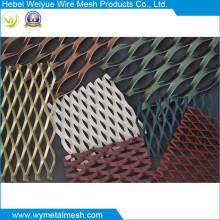 Folha de metal expandida com PVC revestido