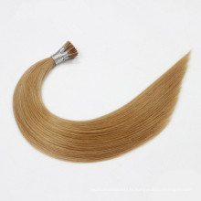 Prebonded I Tip extensions de cheveux en gros Hair Fournisseur Indian Hair