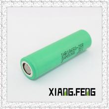 Vente chaude authentique pour Samsung 25r 18650 Batterie Haute batterie AMP rechargeable Inr18650-25r Batterie de vidange