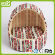 Lit de chien fait à la main, lit de chambre à chien d'intérieur (HB-pH558)