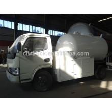Dongfeng Mini 4 * 2 camión cisterna del GLP, mini camiones de China para la venta