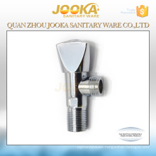 Triangle handle zinc alloy chrome plating toilet angle stop valve