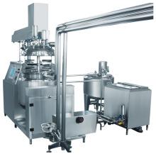 Misturador Emulsionante a Vácuo com Fase de Água e Fase de Óleo