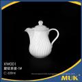 eurohome hotel innovative fashion product white ceramic coffee pot