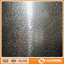 Bobina em relevo em estuque de alumínio 1100 1060 3003