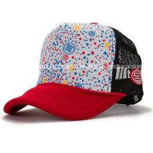 100% хлопок Модная сетчатая кепка, бейсбольная кепка Mesh