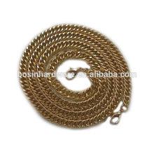 Moda de alta qualidade Metal Alumínio Cadeia Link Duplo