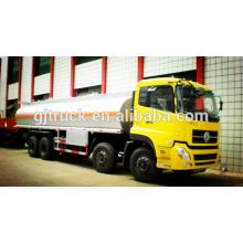 6X4 RHD 24CBM Dongfeng carburant camion / réservoir de carburant camion / huile camion / huile réservoir camion / acide liquide réservoir camion / réservoir camion / camion chimique