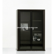 Italienische Moderne Holz-Glas-Tür-Vitrine (SM-D29)