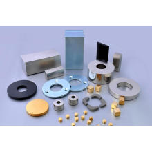 Starker Seltenerd-Magnet Halber Ring-Neodym-Magnet für Lautsprecher, DC-Motor