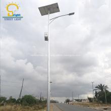 Solarstraßenlaterne mit hängender Batterie