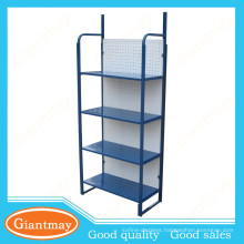 blue color light duty portable folding shelves