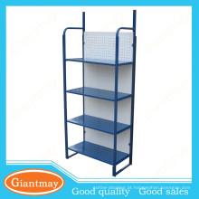 prateleiras dobráveis portáteis de cor azul