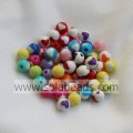 Holiday 8mm Acrylic Plastic Round Gemstone Tiny beads