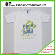 Logo promocional impreso 100% algodón camiseta personalizada (EP-T82963)