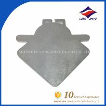 Сувенир мода довольно литой позолоченный серебряный металл, медаль